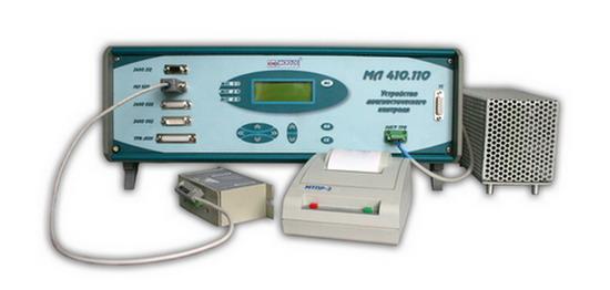 МЛ 410-110 - устройство диагностического контроля электронных блоков пассажирских вагонов