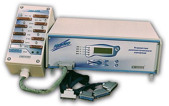 МЛ 410-50 - устройство диагностического контроля электронных блоков пассажирских вагонов