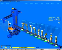 МЛ 530   Система управления  линиями подготовки шихты (составные цеха стекольного производства)