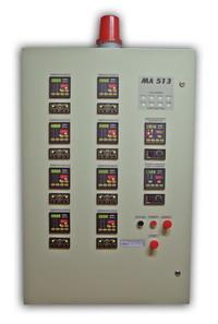 МЛ 513 Система контроля и управления для туннельных печей обжига кирпича